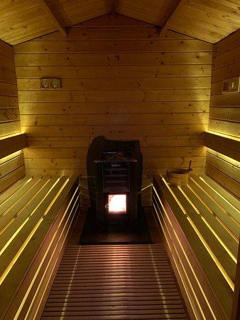 Villafranca d'Asti, Italija: Sauna