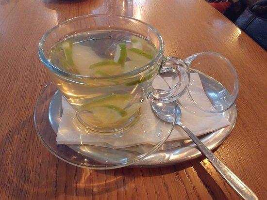 Bad Salzungen, เยอรมนี: Limette-Ingwer-Tee