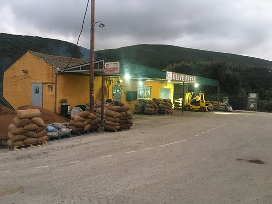 Zakynthos Town, Yunanistan: Elies olive press