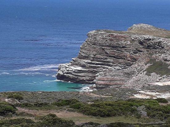 Cape Point, Južná Afrika: Greeting both the Indian and Atlantic Oceans