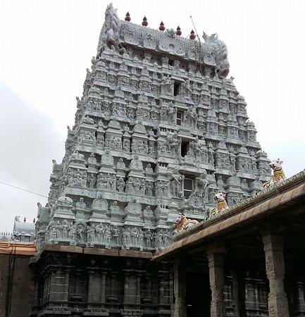 view of a Gopuram