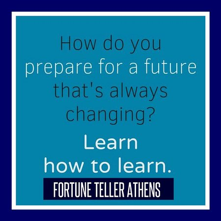 Learn how to anticipate your future