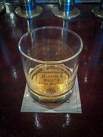 Brownes bar - cheers!