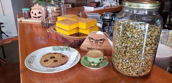 Doces, chás e sobremesas