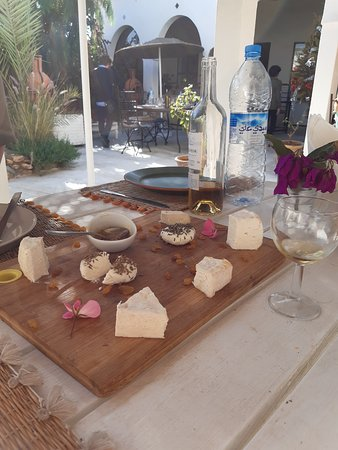 Cheese board as La Fromagerie