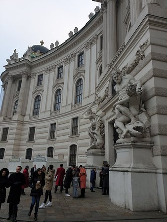 Central point of Vienna visit