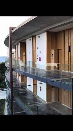 Top floor rooms