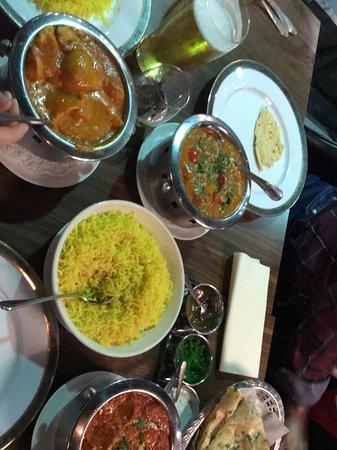 En fantastisk indisk matopplevelse!