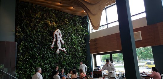 Belo restaurante na Av das Américas