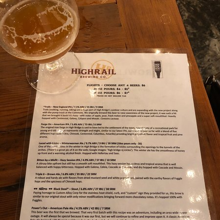 High Rail Brewery
