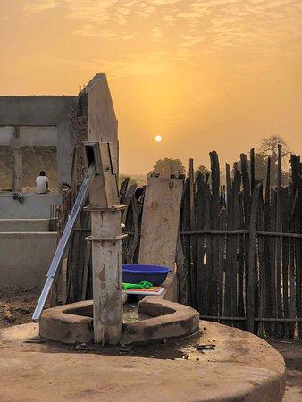 Gambia sunset, Soma