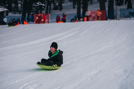 Tahoe City, CA: sledding