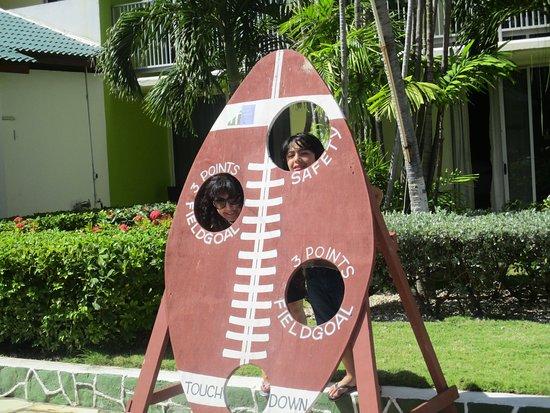 zona de jardines del hotel (interior)