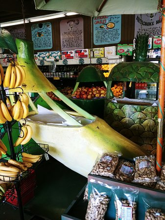 Castroville, CA: produce in artichoke produce market