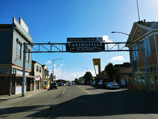 Castroville - the Artichoke Capital of the USA. RogueTrippers