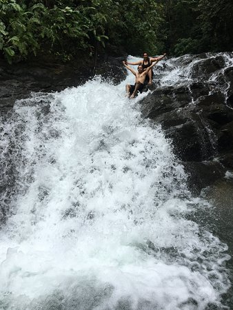 Horseback Riding Tour from Manuel Antonio: at the waterfall
