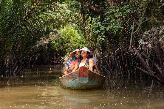 高级组:湄公河三角洲乡村一日游与荣庄佛塔和笃笃