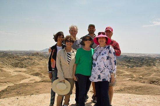 沃爾維斯灣岸前-火烈鳥,Dune7,千歲蘭,月球景觀,綠洲,斯瓦科普蒙德。