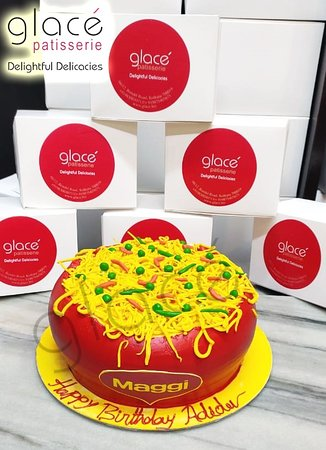 Maggi Noodles Cake