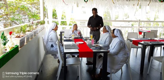 Christmas whishes to Sister Judith his Team
