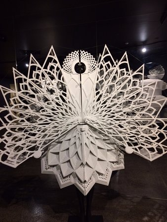 Skip the Line: World of WearableArt & Classic Car Museum Admission Ticket: Inspired by the balanced form of the Lotus flower, artist from India
