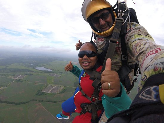 Durban Skydive Centre: Up in the sky for the first time