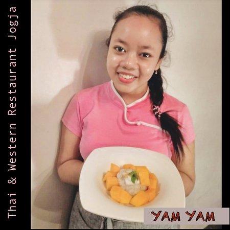 Mango Sticky Rice the favorite Thai dessert at YAM YAM Thai & Western Restaurant Yogyakarta . . . . . . . . . #foodpotography #instafood #kulinerjogja #jogjacarimakan #jogjafoodhunter #jogjacurinary #thebestintown #jogja24jam #prawirotaman #makanenakjogja #makanjogja #restaurantjogja #restaurantyogyakarta #thairestaurantjogja #thairestaurantyogyakarta #makananthailandjogja #yamyamrestaurantjogja #yamyamjogja #yamyamyogyakarta #thaifoodjogja #yogyakuliner #halaljogja