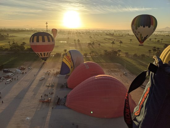 Hod-Hod Soliman Sunrise Hot Air Balloon Rides Luxor, Egypt: Sunrise