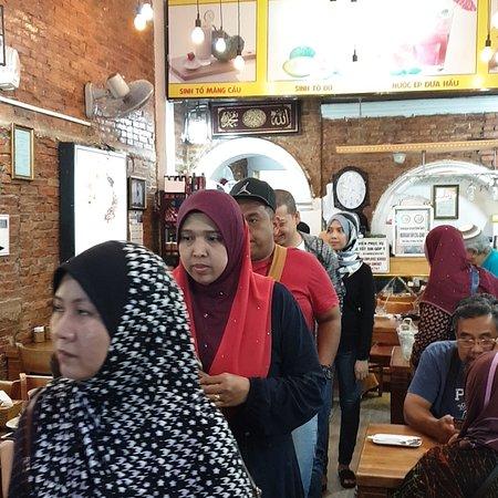 Restaurant MUSAKARIEM &  HAJI IDRIS 47 nguyễn  an ninh .bến thành q1.HCM 31 nguyễn an ninh .bến thành q1 . HCM