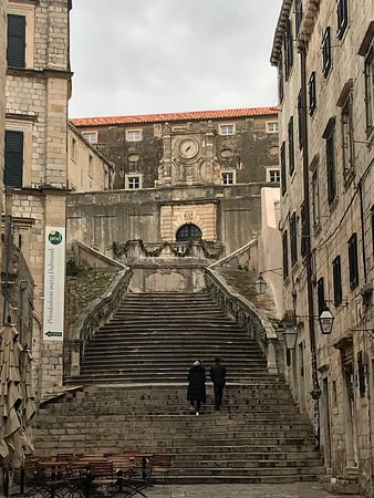 Those famous stairs from Game of Thrones