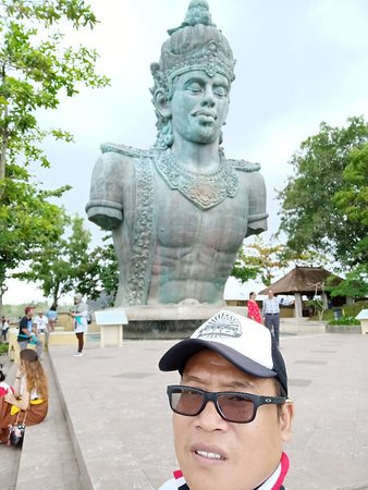 The cultural park or Land Mark of Bali Island