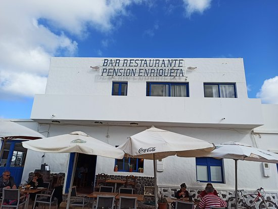 Detalle del exterior del restaurante