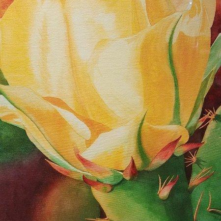 Desert flower painting.