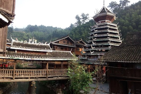 Longji Rice Terraces & Chengyang & Drop off at Zhaoxing village...