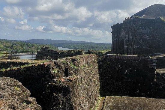 Colon, Fort San-Lorenzo - from Ocean...