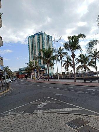 Detalle exterior del hotel.