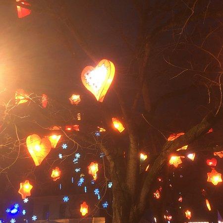 Metz Moselle, France  Sentier des lanternes