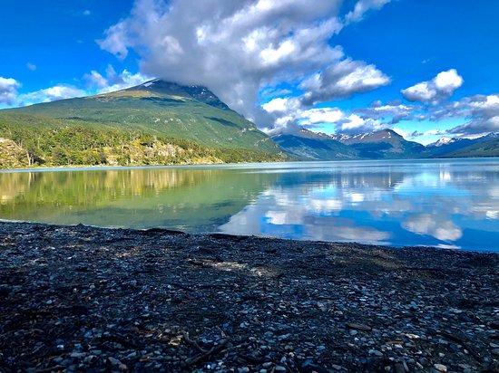 Ushuaia, Argentina: Parque Nacional - Lagos Acigami ex roca / Cerró Cóndor. National Park - Lagos Acigami ex roca / Closed Condor.