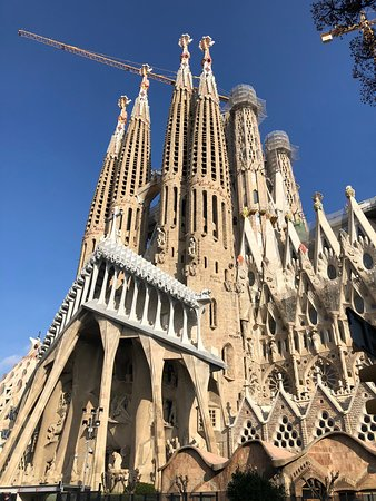 Basilica of the Sagrada Familia Admission Ticket: Exterior
