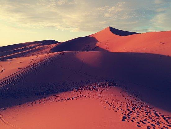 foto sulle dune