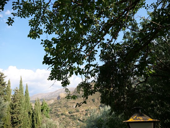 Quentar, Spain: The stunning view from the guesthouse.