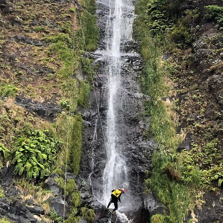 One of the most iconic waterfalls in Madeira