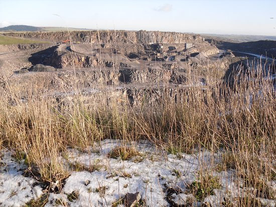 Travel doesn't mean trips to the far ends of the planet. This is a scene from Shipham Quarry near Cheddar, Somerset, UK.  Christmas Day 2009.  My wife, Anne and I packed a picnic lunch and walked up onto the Mendip Hills to celebrate Christmas. We should do it more often!