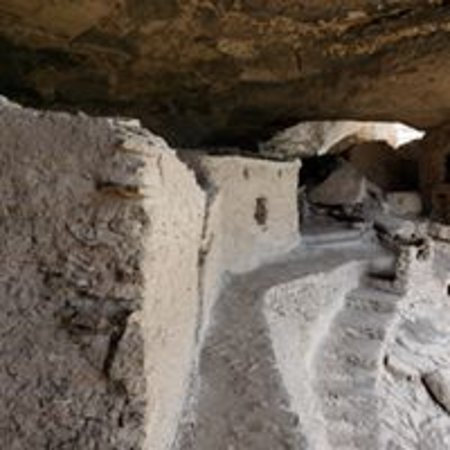 Gila National Forest Cliff Dwellings near Lake Roberts Nature Cabin