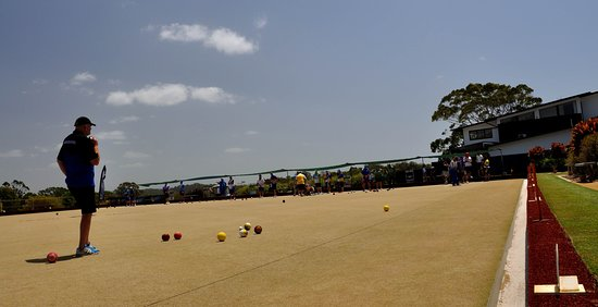 Lawn Bowls is a popular attraction at the Club