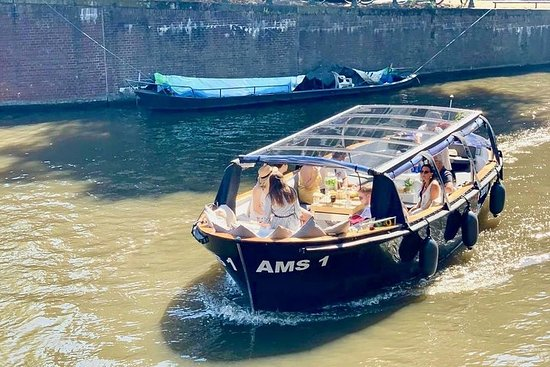 Amsterdam Small-Group Canal Cruise...