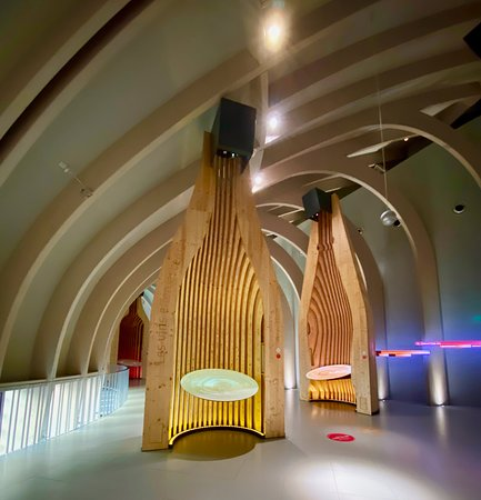 Bordeaux La Cité du Vin Wine Culture Museum Skip-the-Line Entrance Ticket: wine exhibit