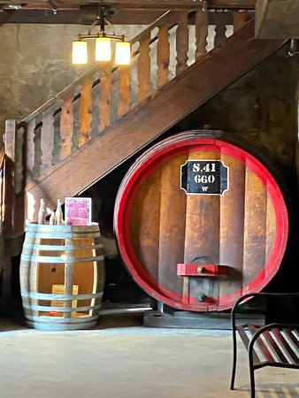 Old Time Wine Barrel