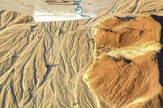 Fly Nazca lines