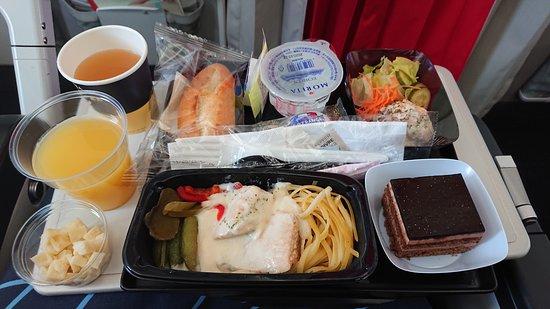 Air France: 291便関西国際空港発の機内食